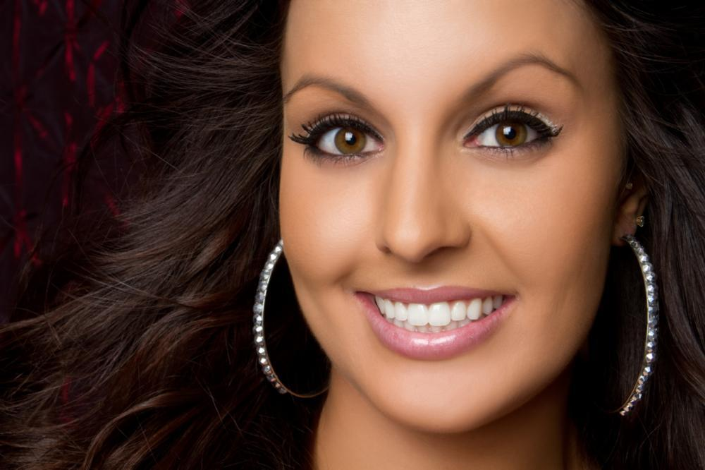 Woman Smiling with White Teeth | Teeth Whitening in West Chester OH