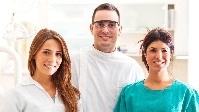 Dentist and Hygienists Smiling | Top Dentist in West Chester OH