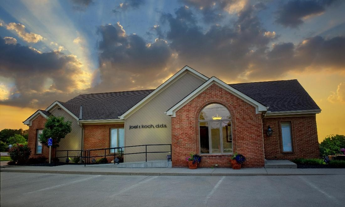 Exterior of Dr. Koch's Dental Office | Top Dental Office in West Chester, OH